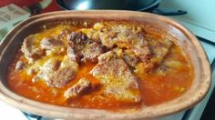 Heavenly Crispy Juicy Spicy Roast i Roman Bowl Recept! Pork Recipes, Cooking Recipes, Good Food, Yummy Food, Hungarian Recipes, Hungarian Food, Pressure Cooker Recipes, Food 52, Main Dishes