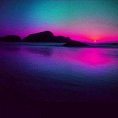 Blue/Purple Sunset!