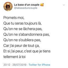 Photos par @labaseduncouple.fr Bad Mood, English Quotes, Morals, Ramadan, Couple Goals, Slogan, Like Me, Best Friends, Relationship