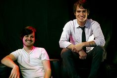 Spencer Smith and Brendon Urie