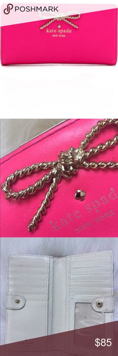 Kate Spade Fair Maiden Used condition see photos for wear. Rare style. First photo is stock. kate spade Bags Wallets