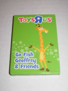 "Toys 'R Us ""Go Fish Geoffrey & Friends"" card game - Yard Sale Price:  Part of $25.00 Bundle"