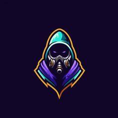 Esport logo Vectors, Photos and PSD files Logo Desing, Team Logo Design, Mascot Design, Logo Esport, Ninja Logo, Esports Logo, Art Template, Game Logo, Cool Logo