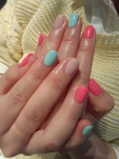 #ArbonnePureSummer  ❤ Color on my nails during summer... Especially bright colors!