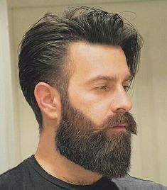Five Top Short Mens Hairstyles For 2018 Trendy Mens Hairstyles, Hipster Hairstyles, Haircuts For Men, Mens Hairstyles With Beard, Beard Styles For Men, Hair And Beard Styles, Curly Hair Styles, Medium Beard Styles, Beard Tips