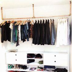 the hanging wardrobe