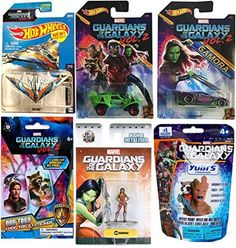 Marvel Guardians of the Galaxy Vol. 2 Hot Wheels Cars Movie Exclusive + Gamora Metal Mini Figure & Ship Milano #149 & Dog tag necklace + Finger Puppet Blind Bag Mystery. #Marvel #Guardians #Galaxy #Vol. #Wheels #Cars #Movie #Exclusive #Gamora #Metal #Mini #Figure #Ship #Milano #necklace #Finger #Puppet #Blind #Mystery