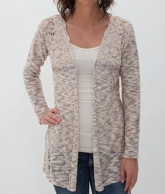 BKE Boutique Open Weave Cardigan Sweater at Buckle.com