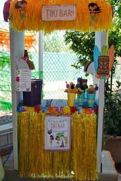 fiestas y cumpleaños ideas decoración tropical verano hawaiana hawai infantil 1 401x600 Fiesta hawaiana para combatir los calores del verano