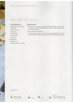 Livro Bimby - Bolos e Sobremesas Chocolate, Mousse, Recipies, Deserts, Menu, Cooking, How To Make, Diet, Vegan