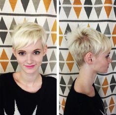 Cute-Short-Hairstyles-with-Bangs-Blonde-Pixie-Haircut-2015