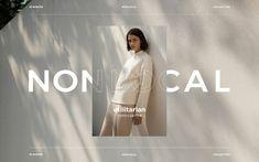W Concept Web Design Trends, Fashion Web Design, Web Design Inspiration, Website Layout, Website Design, Web Layout, Graphic Design Layouts, Graphic Design Posters, Layout Design