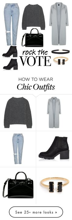 """""""Rock The Vote X"""" by hannaax on Polyvore featuring River Island, Topshop, Uniqlo, New Look and Humble Chic"""