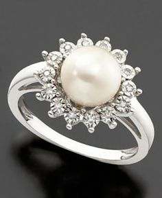 I'd much rather have a pearl ring, that would be pretty sweet.