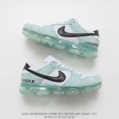 b8d2621cd56870 321 301 Deadstock Nike Air Vapormax Pigskin Mesh Splicing Deadstock Air Max  Trainers Shoes
