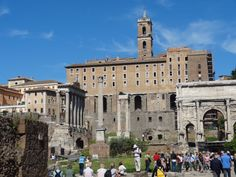 Roman Forum- good backdrop for another book!