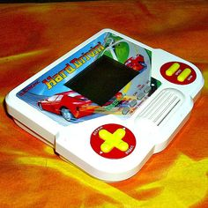 Hard Drivin Tiger Electronics Handheld Lcd 1988 Racing Game Memorabilia Motor Sports Vintage Collectable Video Gaming Sound Effects - SOLD OUT