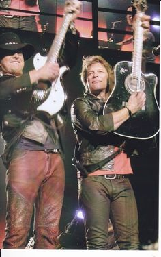 Jon and Richie- the way it SHOULD be!!!!!