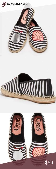 Bombshell shoes Excellent used condition, bombshell shoes! Firm on price for these babies💣🐚 (listed on Ⓜ️ercari $36) Circus by Sam Edelman Shoes Espadrilles