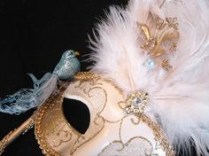 Hey, I found this really awesome Etsy listing at https://www.etsy.com/listing/91477674/blue-bird-venetian-mask