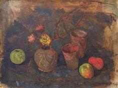 Stella Steyn Still Life Painting with Flowers & Fruit - Jorgensen Gallery Irish Art, Art School, Still Life, Gallery, Artist, Flowers, Painting, Roof Rack, Artists