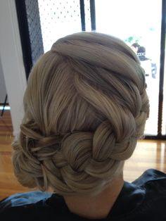 bridesmaid hair? except messier