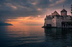 #6 Chillon Castle, Switzerland