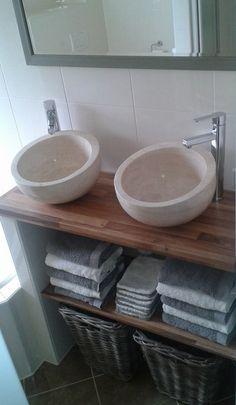 Voor een kleine badkamer