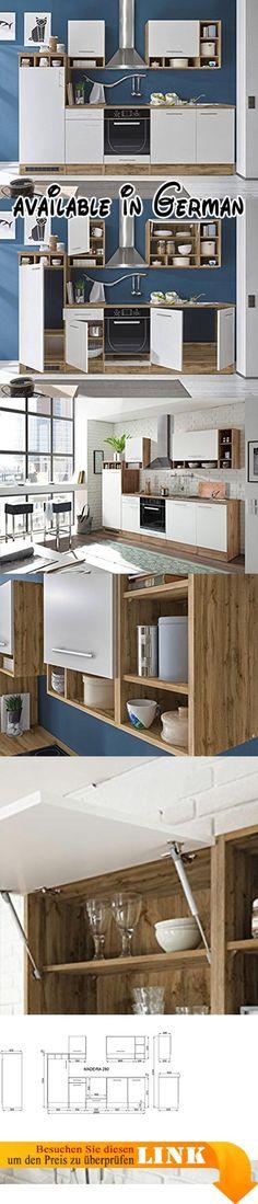 B01EEJNJK0  NEU KÜCHE Alina Wenge 220 CM KÜCHENZEILE KÜCHENBLOCK - einbauküchen für kleine küchen