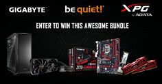 Win this awesome PC hardware bundle from ADATA, be quiet and GIGABYTE!