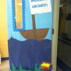 Ocean theme classroom with little fishy names