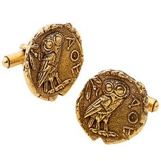 The Met Store - Athenian Coin Cuff Links
