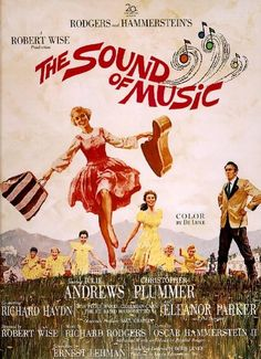Sound Of Music (1959)  In 1938, living as a young postulant at Nonnberg Abbey in Salzburg, Austria, Maria is constantly getting into mischief to the consternation of the nuns and the Mother Abbess. After receiving a request from a widowed Austrian naval captain for a governess for his seven children.   Cast: Julie Andrews & Christopher Plummer