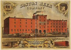 Boston Beer Co. poster, circa 1880. The Boston Public Library's Flickr is the freaking coolest. (This is not the same Boston Beer Company that makes Sam Adams -- those guys came about 100 years later.)