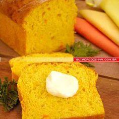 Receita de Pão de cenoura   Guia da Cozinha