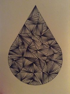 Teardrop, drawing