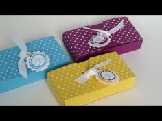 ▶ SCALLOPED TAG TOPPER PUNCH BOX - YouTube