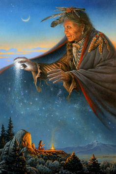 Vision Quest by Charles Frizzell Native American Prayers, Native American Wolf, Native American Spirituality, Native American Paintings, Native American Pictures, American Indian Art, Native American History, American Indians, American Symbols