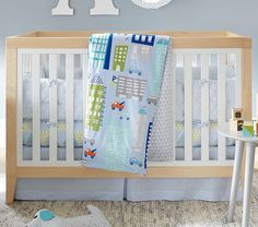Tatum Convertible Crib, Blonde | Pottery Barn Kids