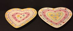 Two J Willfred Charles Sadek Sweet Hearts Heart Plates. senseofthepast Box J.   eBay!