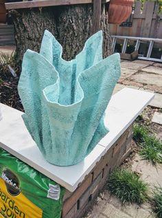 "Cement cloth planter ""Maykascreation"" Vesna Danilovski"