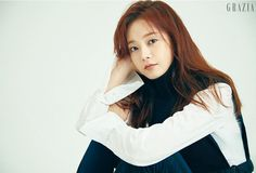 """One of the latest additions to variety show Running Man, Jeon So MIn spoke with the September issue of Grazia about joining the members (""""Gwangsoo is a real brat"""") and how she's g… Korean Actresses, Korean Actors, Actors & Actresses, Jun So Min, Something About 1, Running Man Korean, Girl Crushes, Pretty Woman, Singer"""