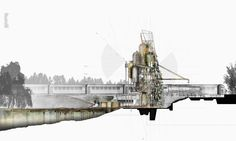 Water Pump, The Great Central Railway, by Christopher Christophi and Richard Bailey [Project, 2010]