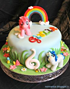 My little pony cake, perfect for the little girls' birthday parties!
