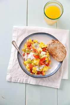 Smoked Salmon Egg Scramble | Annie's Eats