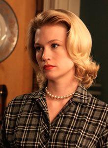 Betty Draper is my new beauty muse.