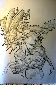 Sketching Trundle by FEDsART.deviantart.com on @DeviantArt