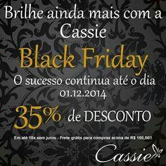 Bom dia!!!!   Que tal começar o dia com essa oportunidade maravilhosa!?!?!    Bolsas e semijoias com 35% de desconto!!!!  Pague em até 10x sem juros, frete grátis para compras acima de R$ 150,00!     #Cassie #semijoias #acessórios #moda #fashion #estilo #inspiração #love #sãopaulo #good #Happy #presente #blackfriday #trends #tendências #lookdodia #instamoda #beautiful #natal #picoftheday #joiasfolheadas #linda #pulseirismo