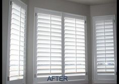 Plantation shutters, yes please!