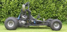 This is a Go Kart i built in my spare time towards the end of second level school. The original chassis was designed for a 5.5hp Honda GX160 Multi purpose engine, however I wanted to use a more powerful a CB500 parallel twin with 57hp. The frame...